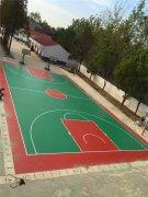 篮球场施工01