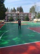 篮球场施工04